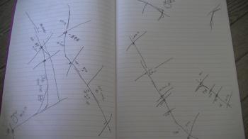 手書きの地図2